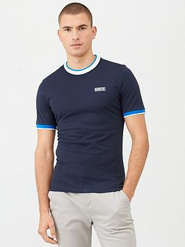 Barbour International Barbour International Filter Contrast Collar T-Shirt  ... Picture