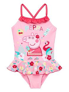 peppa-pig-girls-swimsuit-pink