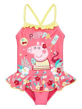 Peppa Pig Peppa Pig Girl Peppa Pig Swimsuit - Pink Picture