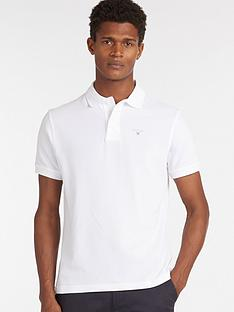 barbour-sports-polo-white