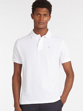 Barbour Barbour Sports Polo - White Picture