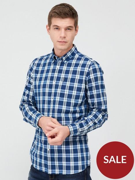 barbour-indigo-8-check-shirt-blue