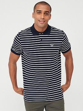 Barbour Barbour Striped Polo - Navy Picture