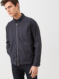 barbour-ender-wax-jacket-navy