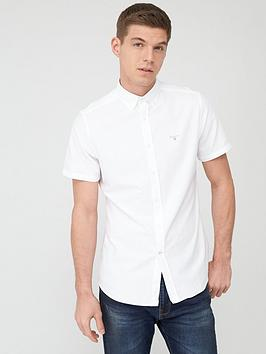 Barbour Barbour Short Sleeved Oxford Shirt - White Picture