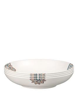 Denby Denby Monsoon Mandala Pasta Bowls &Ndash; Set Of 4 Picture