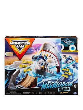 Monster Jam Monster Jam 1:64 Basic Stunt Playsets (Megladoon Mayhem) Picture