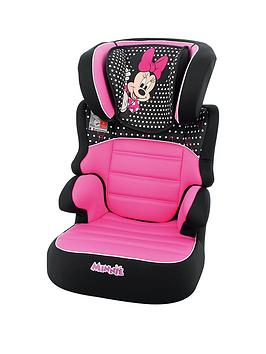 Disney Baby Disney Baby Minnie Mouse Befix Sp Group 2-3 High Back Booster  ... Picture