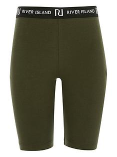 river-island-girls-waistband-cycling-shorts--nbspkhaki