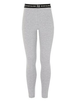 River Island River Island Girls Waistband Legging - Grey Picture
