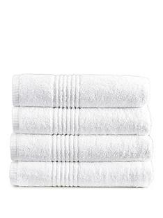 eden-egyptian-pair-of-cotton-towels-white