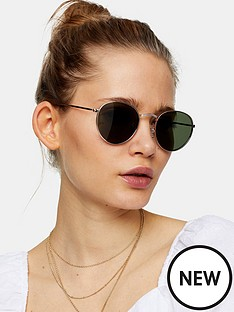 topshop-metro-sunglasses-gold