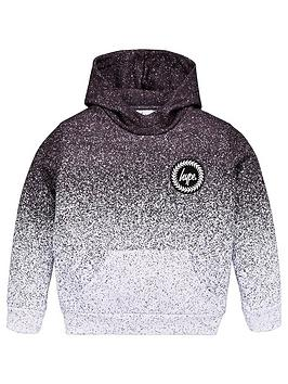 Hype Hype Boys Speckle Fade Overhead Hoodie - Black Picture