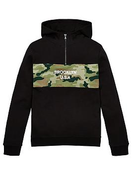 V by Very V By Very Boys Camo 'Brooklyn' Overhead Hoodie -  ... Picture
