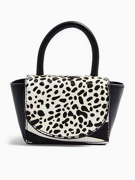 Topshop Topshop Animal Print Handbag - Mono Picture