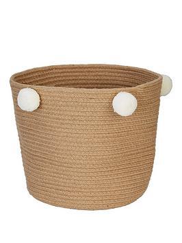 Very Pom Pom Storage Basket Picture