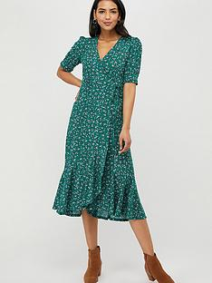 monsoon-fagen-ditsy-print-midi-dress-green