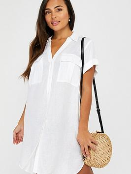 Accessorize Accessorize Beach Shirt - White Picture