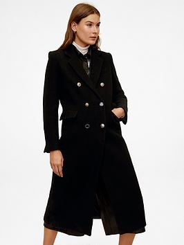 Mango Mango Military Coat - Black Picture