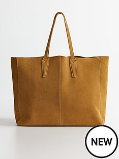 mango-oversized-suede-tote-bag-medium-brown