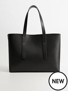 mango-pu-leather-oversized-tote-bag-black