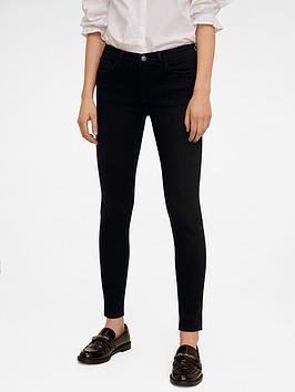 Mango Mango Kim Skinny Jeans - Grey Picture
