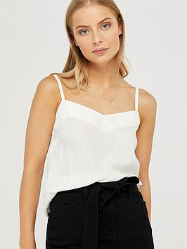 Monsoon Monsoon Mae Pleat Cami - Ivory Picture