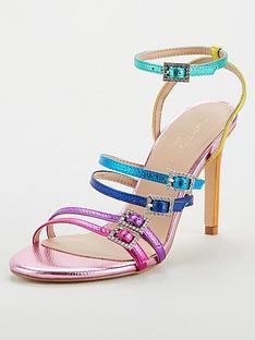 kurt-geiger-london-pierra-heeled-sandals-multi