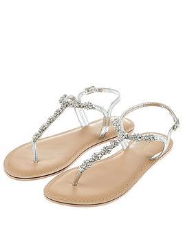 Accessorize  Reno Sandal - Silver