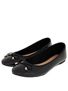 accessorize-patent-ballerina-black