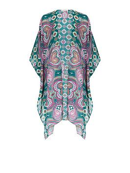 Monsoon Monsoon Lina Longline Paisley Cover Up - Multi Picture