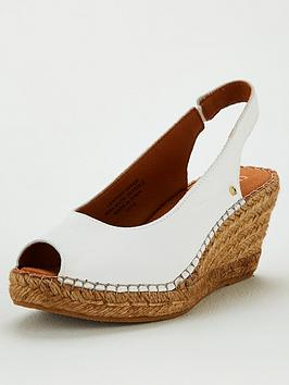 Carvela Carvela Sharon Wedge Sandals - White Picture