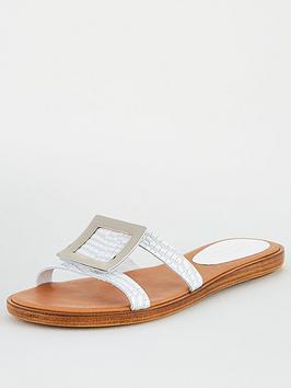 Carvela Carvela Comfort Skipper Flat Sandal - White Picture