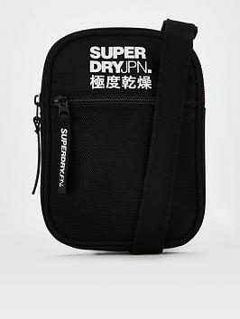 Superdry Superdry Sport Pouch Cross Body Bag - Black Picture