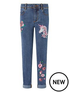 monsoon-girls-eliza-unicorn-jeans-blue