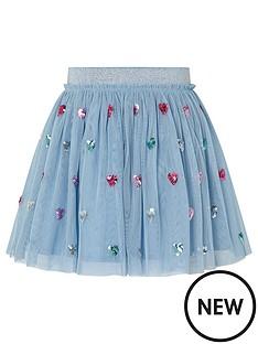 monsoon-girls-disco-heart-skirt-blue