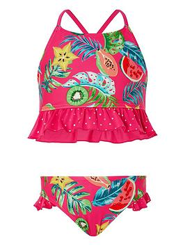 Monsoon Monsoon Inna Frill Bikini - Pink Picture