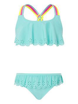 Monsoon Monsoon Girls S.E.W Lily Bikini - Turquoise Picture