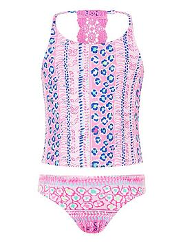 Monsoon Monsoon Ava Tankini - Pink Picture