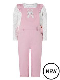 monsoon-baby-girls-albi-dungaree-tshirt-pink