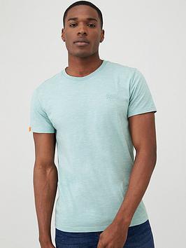 Superdry Superdry Orange Label Vintage Embroidery T-Shirt - Mint Picture