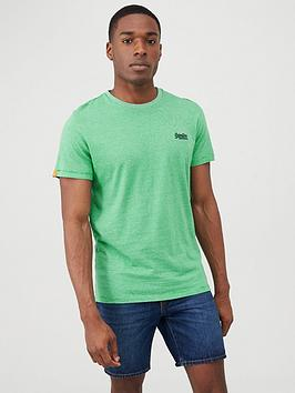 Superdry Superdry Orange Label Vintage Embroidery T-Shirt - Green Picture