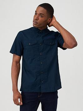 Superdry Superdry Field Edition Short Sleeve Shirt - Navy Picture