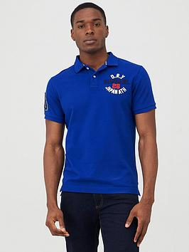 Superdry Superdry Classic Superstate Polo Shirt - Cobalt Picture