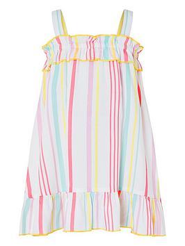 Monsoon Monsoon S.E.W. Baby Girls Sorbet Dress - Multi Picture