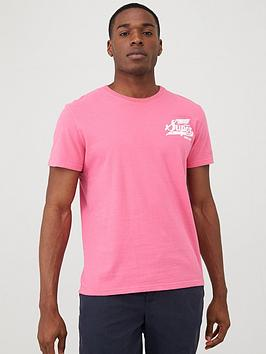 Superdry Superdry Classic Script T-Shirt - Pink Picture
