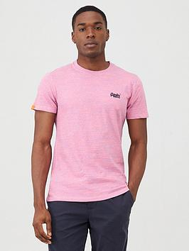Superdry Superdry Original Label Vintage Embroidery T-Shirt - Pink Picture