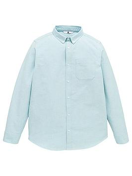 V by Very V By Very Boys Oxford Shirt - Green Picture