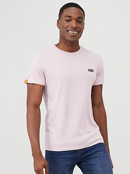 Superdry Superdry Orange Label Vintage Embroidery T-Shirt - Pink Picture