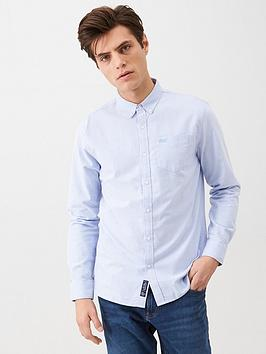 Superdry Superdry Classic University Oxford Shirt - Light Blue Picture